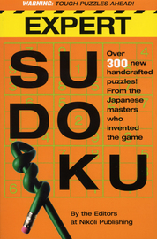 Expert Sudoku - cover