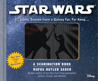 Star Wars: A Scanimation Book - cover