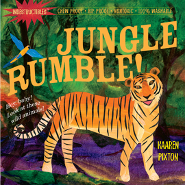 Indestructibles: Jungle Rumble! - cover