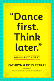 """Dance First. Think Later"" - cover"