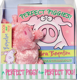 Perfect Piggies! Book and Plush Set - cover
