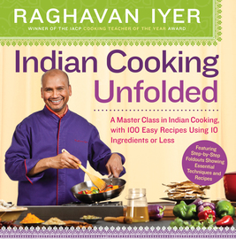 Indian Cooking Unfolded - cover