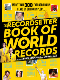 The RecordSetter Book of World Records - cover