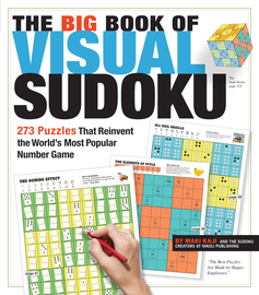 The Big Book of Visual Sudoku - cover