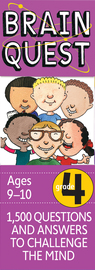Brain Quest 4th Grade Q&A Cards - cover