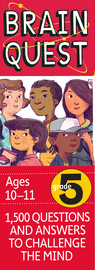 Brain Quest Grade 5, revised 4th edition - cover