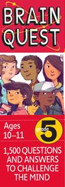 Brain Quest 5th Grade Q&A Cards - cover