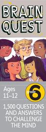 Brain Quest 6th Grade Q&A Cards - cover