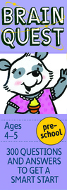 Brain Quest Preschool Q&A Cards - cover