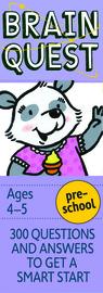 Brain Quest Preschool Q&A Cards - cover