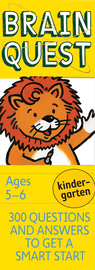 Brain Quest Kindergarten Q&A Cards - cover