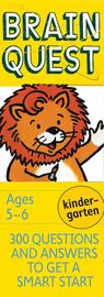 Brain Quest Kindergarten Q&A Cards - cover