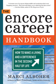 The Encore Career Handbook - cover