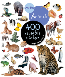 Eyelike Stickers: Animals - cover