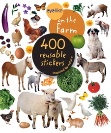 Eyelike Stickers: On the Farm - cover