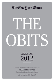 The Obits: The New York Times Annual 2012 - cover