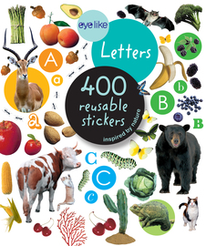Eyelike Stickers: Letters - cover