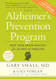 The Alzheimer's Prevention Program - cover