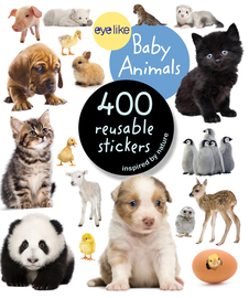 Eyelike Stickers: Baby Animals - cover