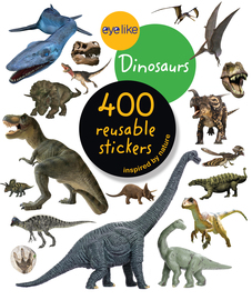 Eyelike Stickers: Dinosaurs - cover