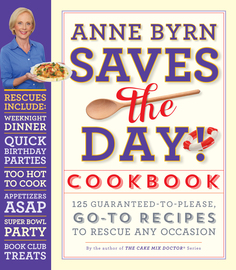 Anne Byrn Saves the Day! Cookbook - cover