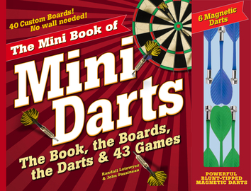 The Mini Book of Mini Darts - cover