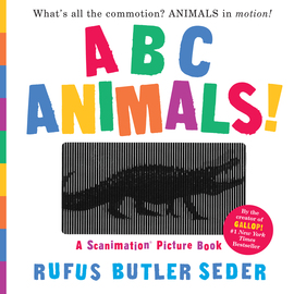 ABC Animals!: A Scanimation Picture Book - cover