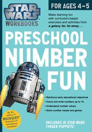 Star Wars Workbook: Preschool Number Fun - cover