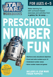 Star Wars Workbook: Preschool Number Fun - cover