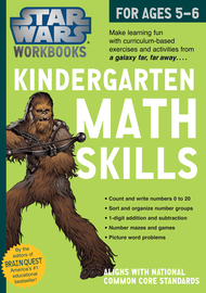 Star Wars Workbook: Kindergarten Math Skills - cover