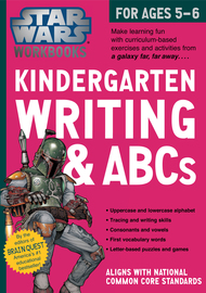 Star Wars Workbook: Kindergarten Writing and ABCs - cover