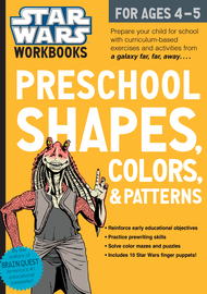 Star Wars Workbook: Preschool Shapes, Colors, and Patterns - cover