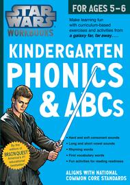 Star Wars Workbook: Kindergarten Phonics and ABCs - cover