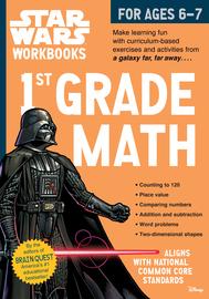 Star Wars Workbook: 1st Grade Math - cover