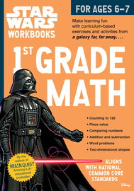 Star Wars Workbook: 1st Grade Math - cover