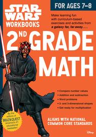 Star Wars Workbook: 2nd Grade Math - cover
