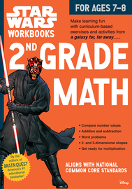 Star Wars Workbook: 2nd Grade Math - cover