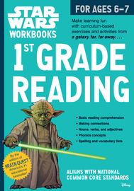 Star Wars Workbook: 1st Grade Reading - cover