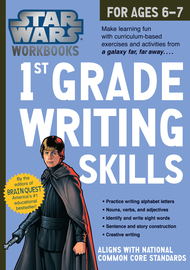 Star Wars Workbook: 1st Grade Writing Skills - cover