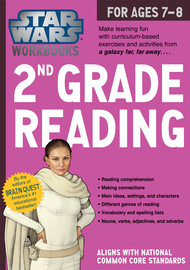 Star Wars Workbook: 2nd Grade Reading - cover