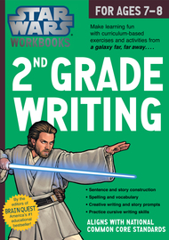 Star Wars Workbook: 2nd Grade Writing - cover
