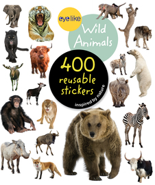 Eyelike Stickers: Wild Animals - cover