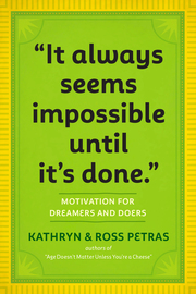 """It Always Seems Impossible Until It's Done."" - cover"