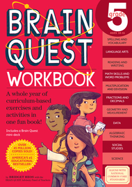 Brain Quest Workbook: Grade 5 - cover