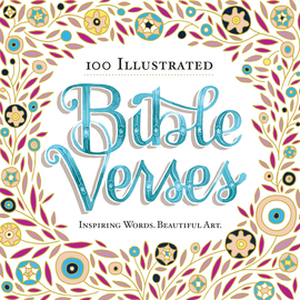 100 Illustrated Bible Verses - cover