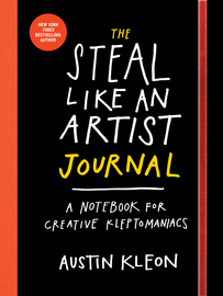 The Steal Like an Artist Journal - cover