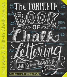 The Complete Book of Chalk Lettering - cover