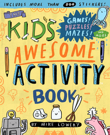 The Kid's Awesome Activity Book - cover