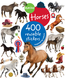 Eyelike Stickers: Horses - cover