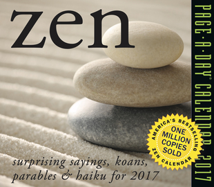 Zen Page-A-Day Calendar 2017 - cover